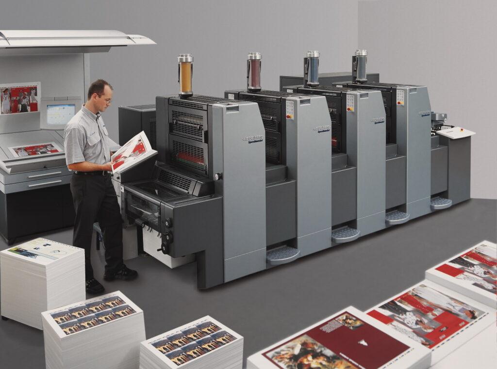 Heidelberg Print Master 52-4